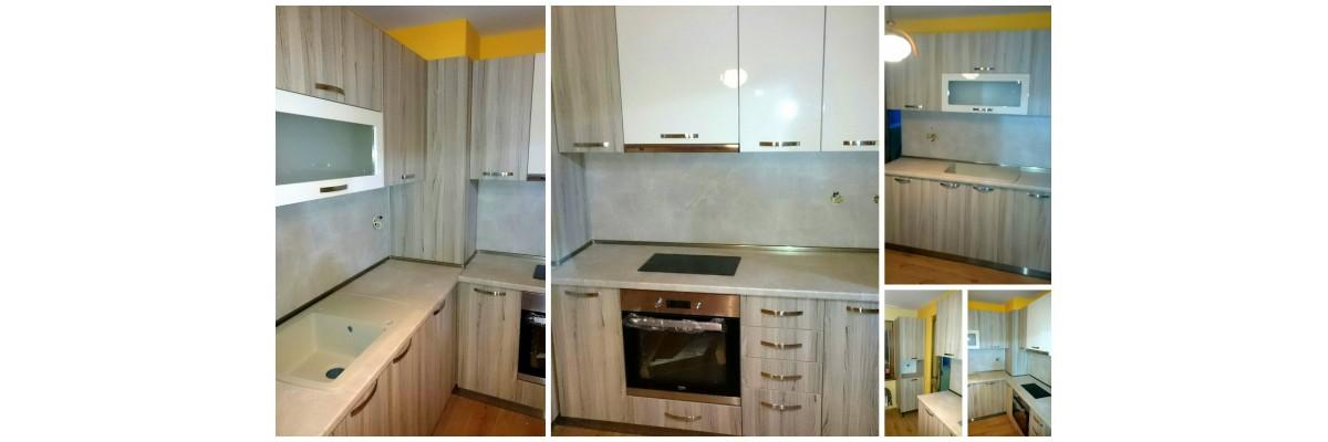 Кухня по проект 10