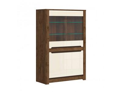 Шкаф с витрина REG2W2D