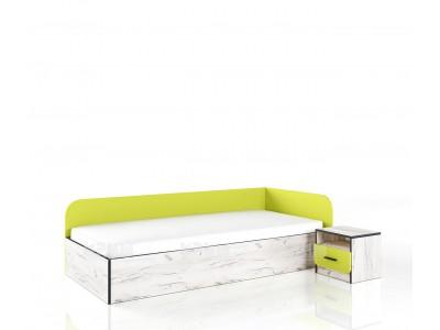 Легло с нощно шкафче Сити 2024