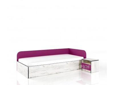 Легло с нощно шкафче Сити 2026