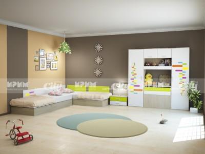 Детско обзавеждане Сити 5010 вариант 1