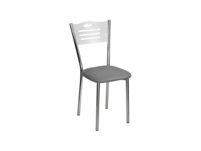 Трапезен стол Практик бял матрикс