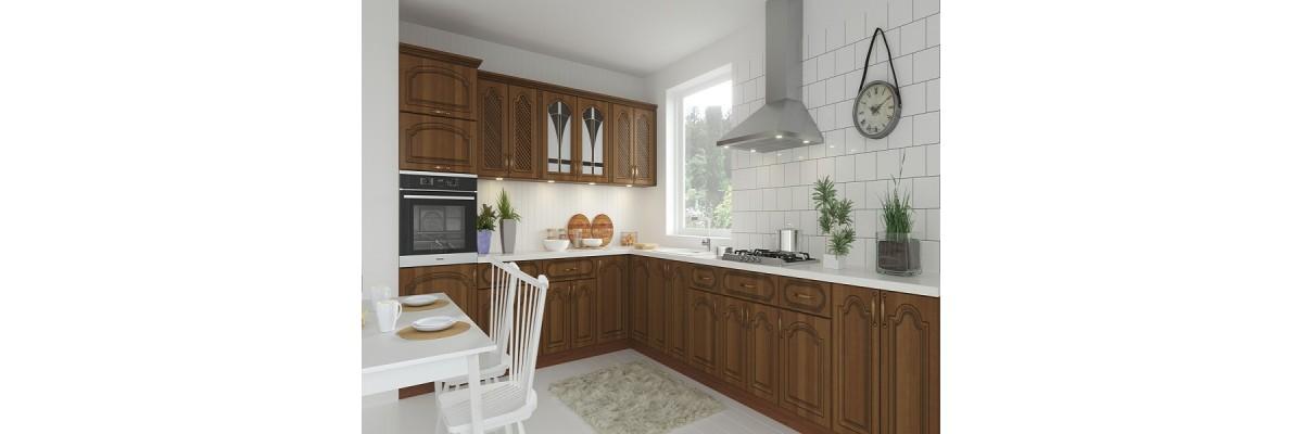 Модулна кухня Орех